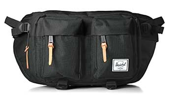riñonera negra eighteen herschel