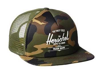 gorra militar de la marca Herschel Supply